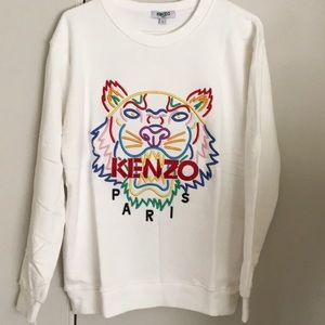 Like new kenzo sweatshirt in terry clothes